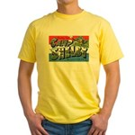 Camp Shelby Mississippi Yellow T-Shirt