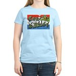 Camp Shelby Mississippi Women's Pink T-Shirt