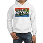 Camp Shelby Mississippi (Front) Hooded Sweatshirt