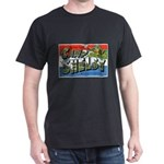 Camp Shelby Mississippi (Front) Black T-Shirt