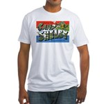 Camp Shelby Mississippi (Front) Fitted T-Shirt