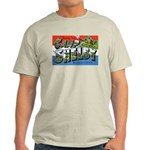 Camp Shelby Mississippi (Front) Ash Grey T-Shirt