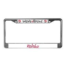 Kolohe License Plate Frame