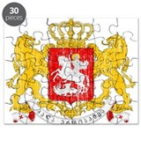 Georgia Coat Of Arms Puzzle