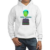RETIRED LIBRARIAN BIRD 6.PNG Hoodie Sweatshirt