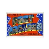 Fort Jackson South Carolina Rectangle Magnet