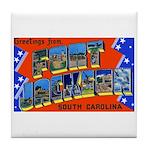 Fort Jackson South Carolina Tile Coaster