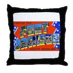 Fort Jackson South Carolina Throw Pillow