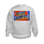 Fort Jackson South Carolina Kids Sweatshirt