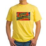 Fort Jackson South Carolina Yellow T-Shirt