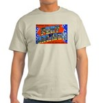 Fort Jackson South Carolina Ash Grey T-Shirt
