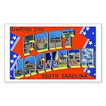 Fort Jackson South Carolina Rectangle Sticker