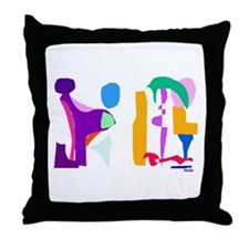 Imaginations Throw Pillow