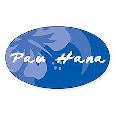 Pau Hana Decal