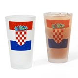 Croatia.png Drinking Glass