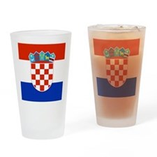 Croatia.png Drinking Glass