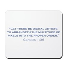 Digital Artists / Genesis Mousepad