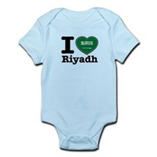 I Love Riyadh Infant Bodysuit