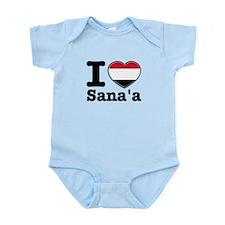 I Love Sanaa Onesie