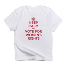 K C Vote Womens Rights Infant T-Shirt