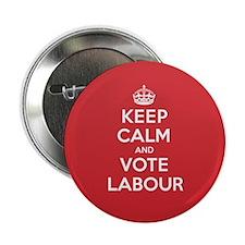 "K C Vote Labour 2.25"" Button (10 pack)"
