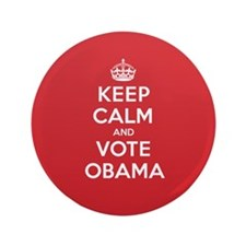 "K C Vote Obama 3.5"" Button"