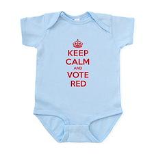 K C Vote Red Infant Bodysuit