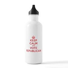 K C Vote Republican Water Bottle