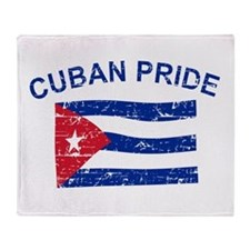 Cuban Pride Throw Blanket