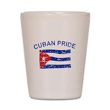 Cuban Pride Shot Glass