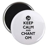 Keep Calm and Chant Om Magnet
