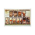 Fort Benning Georgia Rectangle Magnet (10 pack)
