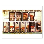 Fort Benning Georgia Small Poster