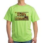 Fort Benning Georgia Green T-Shirt