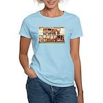 Fort Benning Georgia Women's Pink T-Shirt
