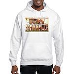 Fort Benning Georgia (Front) Hooded Sweatshirt