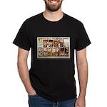 Fort Benning Georgia (Front) Black T-Shirt