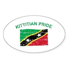 St. Kitts Pride Decal