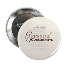 "Constitutional Conservative 2.25"" Button (100 pack"