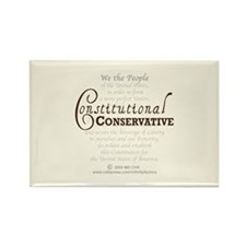 Constitutional Conservative Rectangle Magnet
