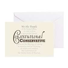 Constitutional Conservative Greeting Card