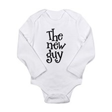 The New Guy Long Sleeve Infant Bodysuit