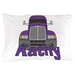Trucker Kathy Pillow Case