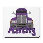 Trucker Kathy Mousepad