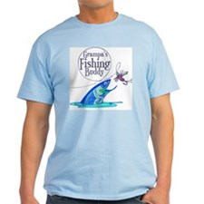 Grampas Fishing Buddy Mens Shirt