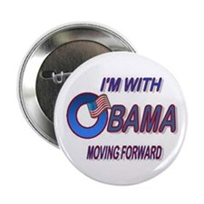 "I'm with Obama 2.25"" Button"