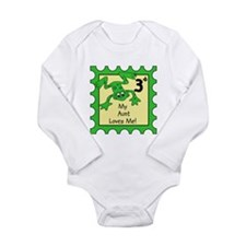 Unique I love frogs Long Sleeve Infant Bodysuit