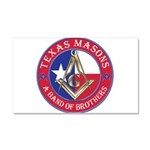 Texas Brothers Car Magnet 20 x 12