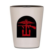 Combined Operations B-R Tombstone Shot Glass