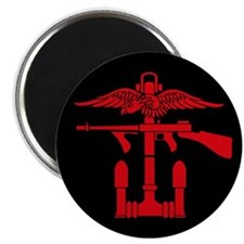 Combined Operations B-R Tombstone Magnet